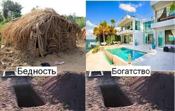 бедность и богатство